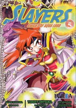 Slayers Knight Of Aqua Lord manga tomo 5