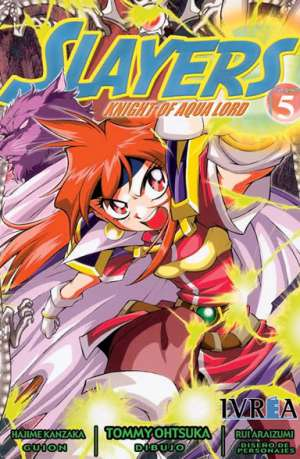 Slayers Knight Of Aqua Lord manga tomo 5