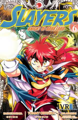 Slayers Knight Of Aqua Lord manga tomo 6
