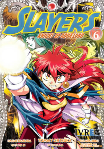 Slayers Knight Of Aqua Lord manga tomo 6