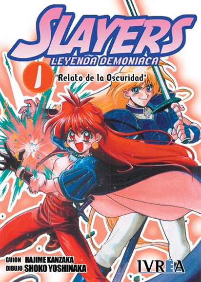 Slayers Leyenda Demoniaca manga tomo 1
