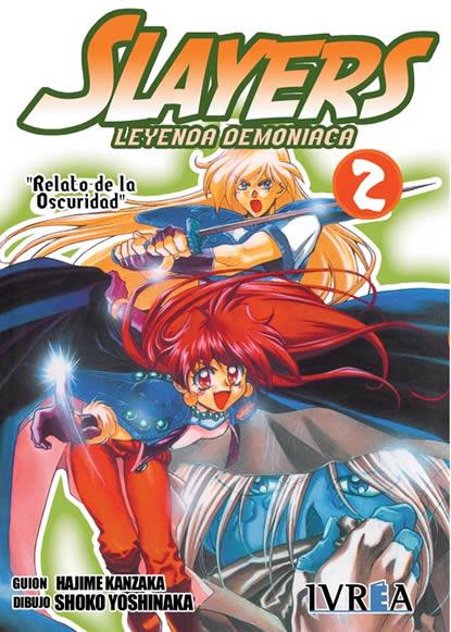 Slayers Leyenda Demoniaca manga tomo 2