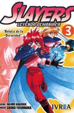 Slayers Leyenda Demoniaca manga tomo 3