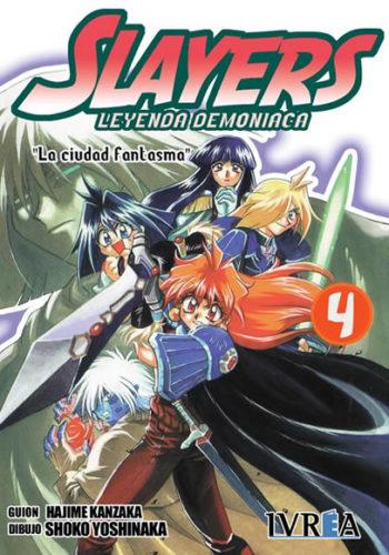 Slayers Leyenda Demoniaca manga tomo 4
