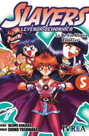 Slayers Leyenda Demoniaca manga tomo 5