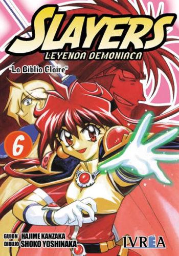 Slayers Leyenda Demoniaca manga tomo 6