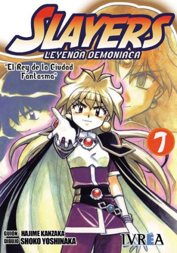Slayers Leyenda Demoniaca manga tomo 7