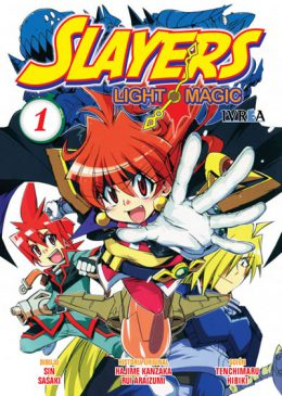 Slayers Light Magic Manga Tomo 1