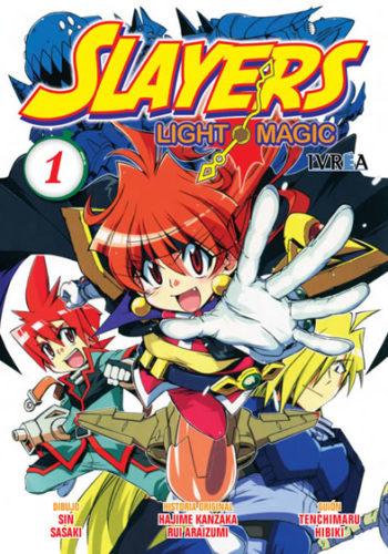 Slayers Light Magic Manga Tomo 1