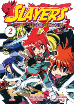 Slayers Light Magic manga tomo 2