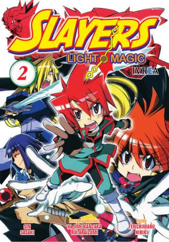 Slayers Light Magic manga tomo 2