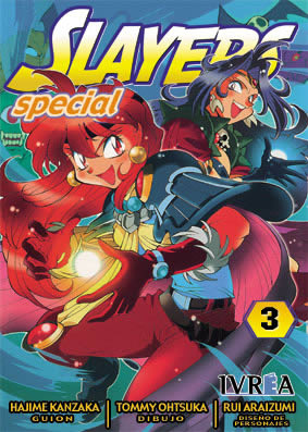 Slayers Special manga tomo 3