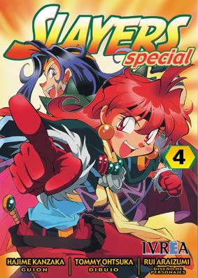 Slayers Special manga tomo 4