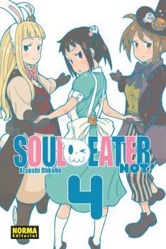 Soul Eater Not! manga tomo 4
