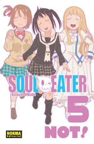 Soul Eater Not! manga tomo 5