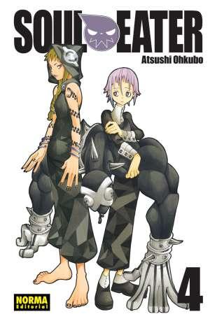 Soul Eater manga Tomo 4