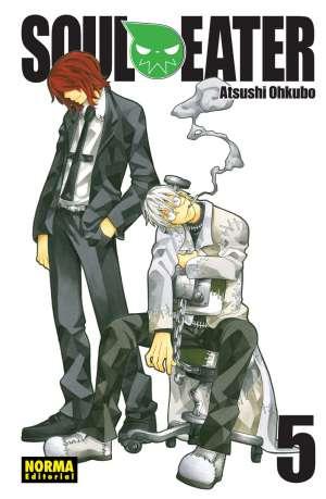 Soul Eater manga Tomo 5