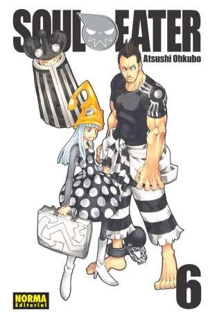 Soul Eater manga Tomo 6
