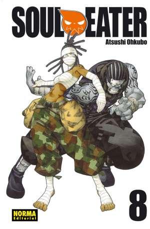Soul Eater manga Tomo 8