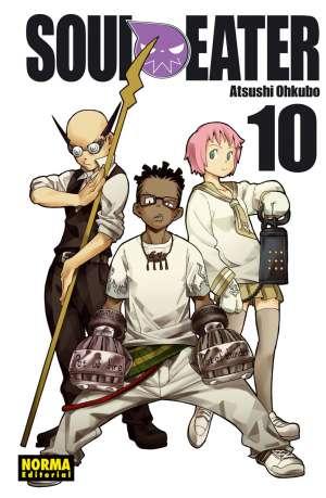 Soul Eater manga Tomo 10