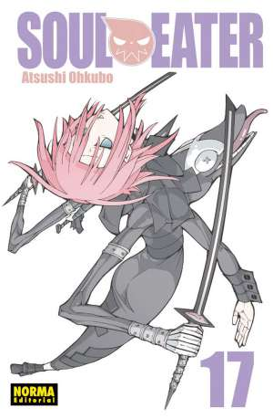 Soul Eater manga Tomo 17