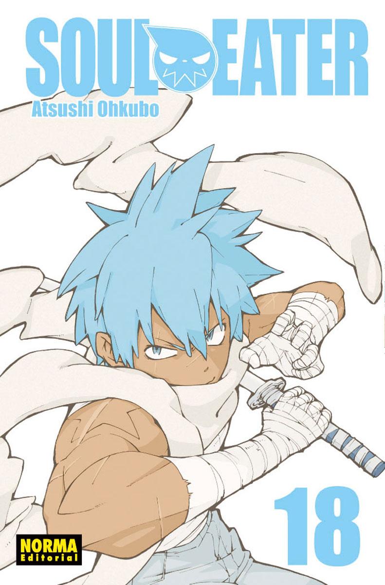 Soul Eater manga Tomo 18