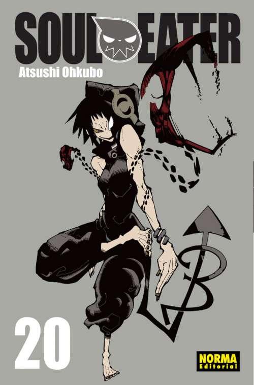 Soul Eater manga Tomo 20