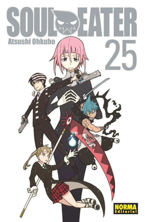 Soul Eater manga Tomo 25