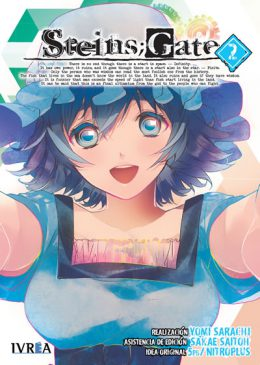 Steins;Gate manga tomo 2