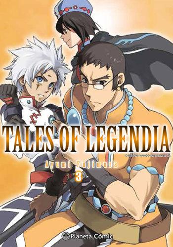 Manga Tales of Legendia 03