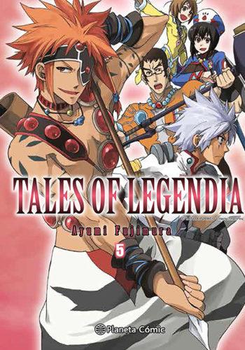 Manga Tales of Legendia 05