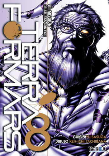 Manga Terra Formars 08