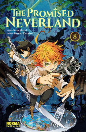 Manga The Promised Neverland 08