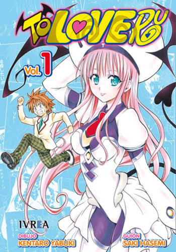 To Love-Ru manga tomo 1