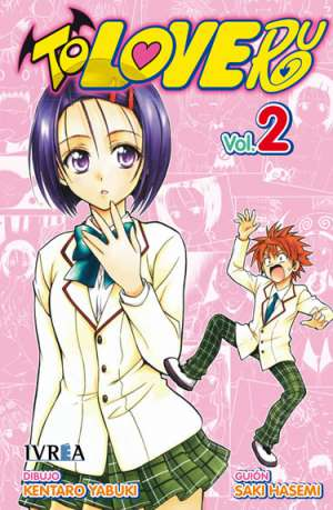 To Love-Ru manga tomo 2