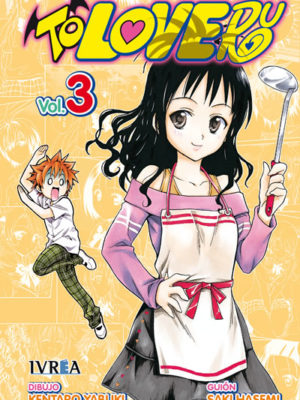 To Love-Ru manga tomo 3