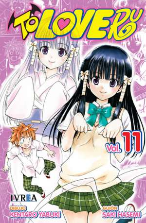 To Love-Ru manga tomo 11