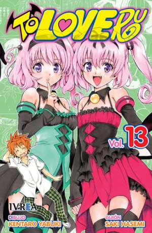 To Love-Ru manga tomo 13