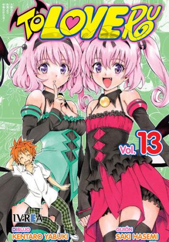 To Love-Ru manga tomo 13