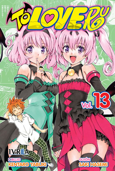 Manga To Love-Ru tomo 13