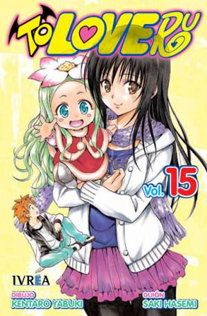 To Love-Ru manga tomo 15