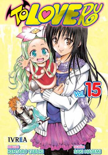 To Love-Ru manga tomo 15