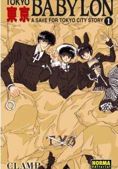 Tokyo Babylon manga Tomo 1