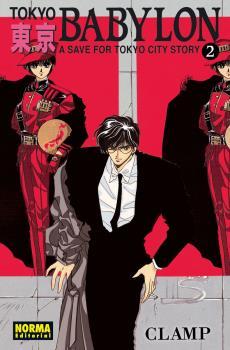 Tokyo Babylon manga Tomo 2