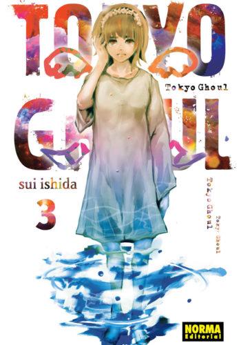 Tokyo Ghoul manga Tomo 3