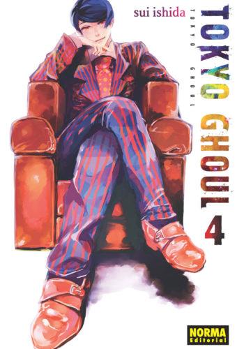 Tokyo Ghoul manga Tomo 4