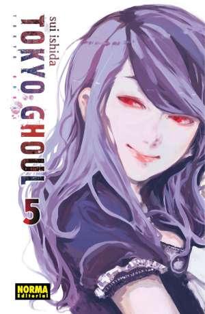 Tokyo Ghoul manga Tomo 5