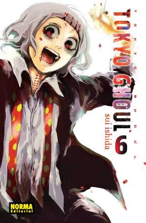Tokyo Ghoul manga Tomo 6