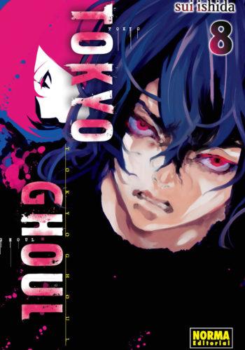 Tokyo Ghoul manga Tomo 8