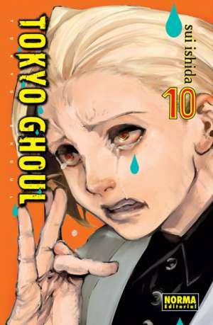Tokyo Ghoul manga Tomo 10